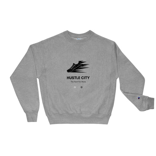 Hustle City Champion Sweatshirt - Black