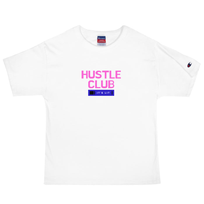 The Hustle Club Men's Champion T-Shirt - White