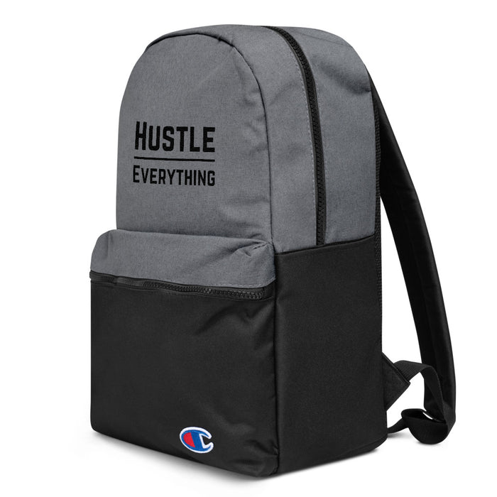 Hustle Original Embroidered Champion Backpack