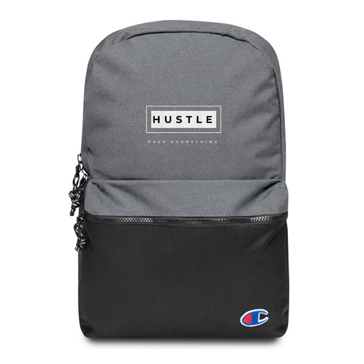 Hustle Box Embroidered Champion Backpack
