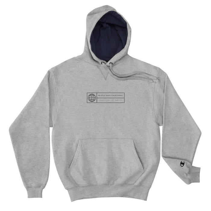 Worldwide Hustle Champion Hoodie - Grey