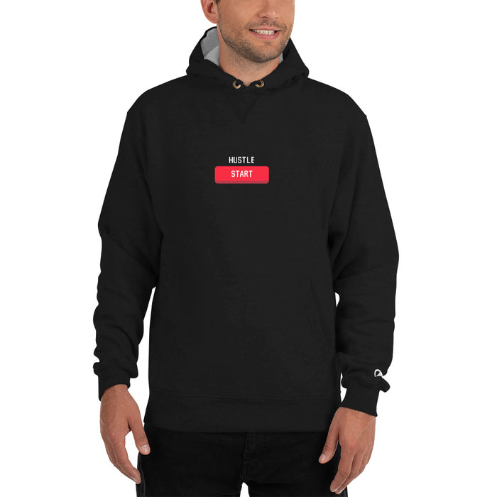 Hustle Start Champion Hoodie - Black
