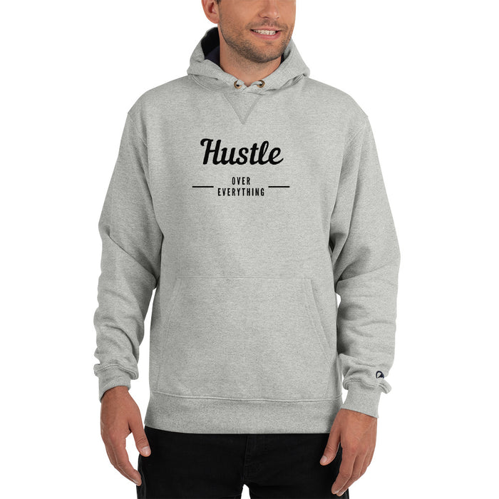 Hustle & Flow Champion Hoodie - Grey
