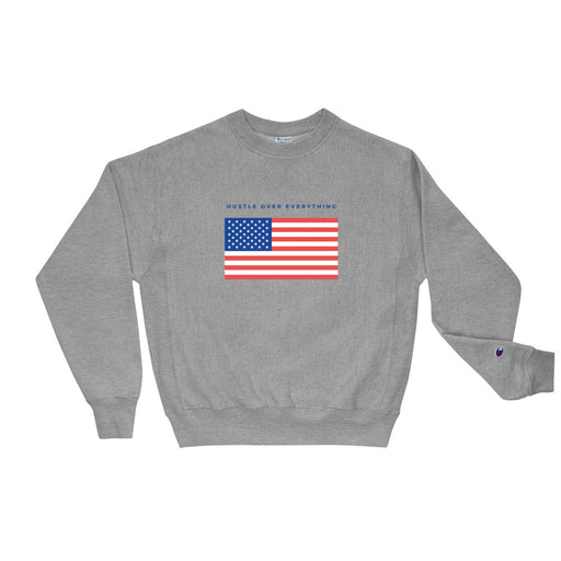 American Hustle Champion Sweatshirt - Grey