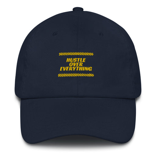 Hustle Race Snapback - Navy