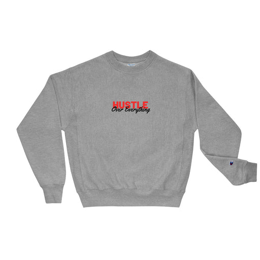 Hustle Race Champion Sweatshirt - Grey