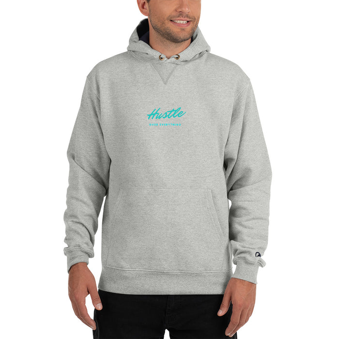 Miami Vice Champion Hoodie - Grey