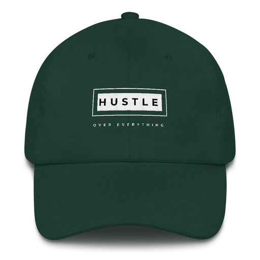 Hustle Box Snapback Hat - Green