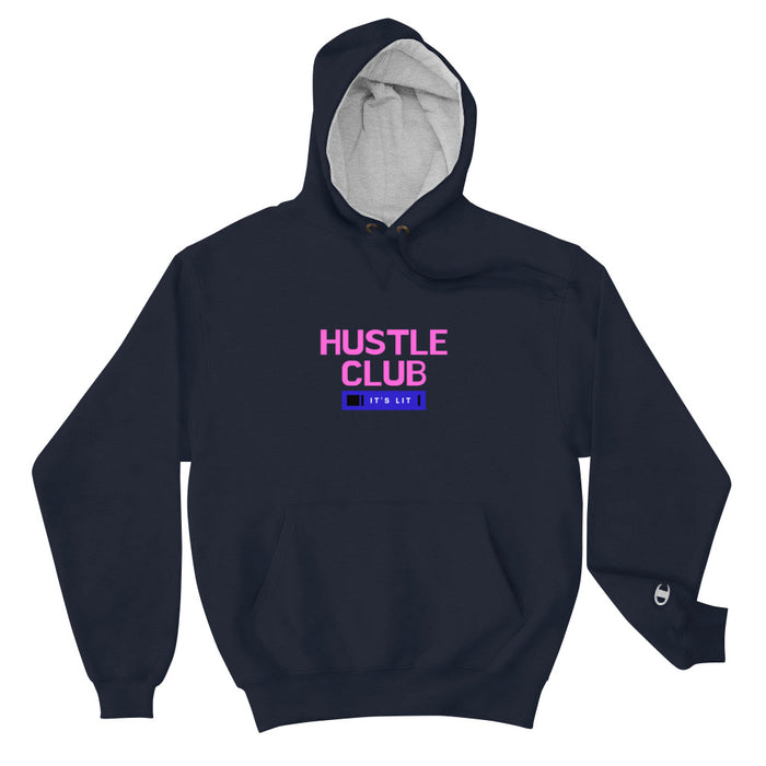 Hustle Club Champion Hoodie - Navy