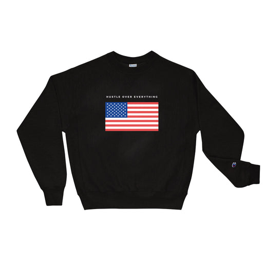 American Hustle Champion Sweatshirt - Black