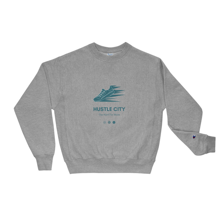 Hustle City Champion Sweatshirt - Green