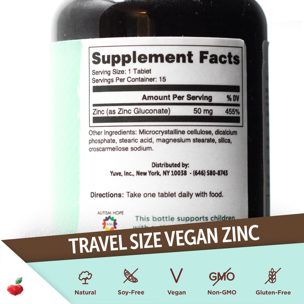 Vegan Zinc - TravelSize
