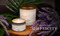 Aromatheraphy Candle-Simplicity