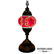 Load image into Gallery viewer, Passionate Boho Handcrafted Mosaic Table Lamp-Medium