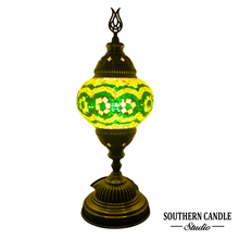 Load image into Gallery viewer, Andalusia Green Mosaic Table Lamp-Medium