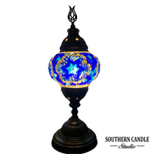 Load image into Gallery viewer, Azul Handcrafted Medium Mosaic Table Lamp