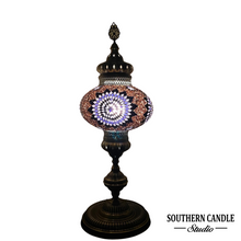 Load image into Gallery viewer, Mara Boho Handcrafted Luxury Giant Mosaic Floor Lamp