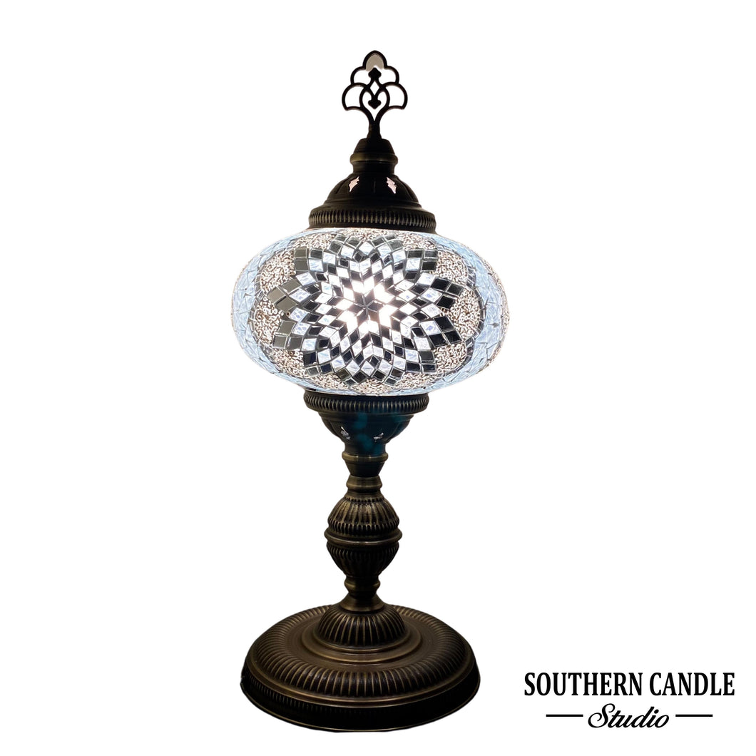 Premium White Star Mosaic Lamp