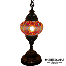 Load image into Gallery viewer, Koi Medium Mosaic Table Lamp