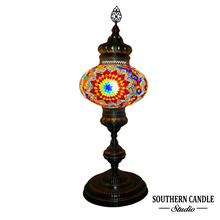 Load image into Gallery viewer, Agnes Boho Handcrafted Luxury Giant Mosaic Floor Lamp