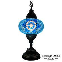 Load image into Gallery viewer, Aqua Star Handcrafted Mosaic Large Table Lamp