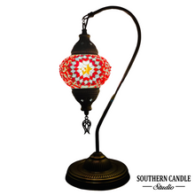 Load image into Gallery viewer, Selene Boho Handcrafted Medium Mosaic Table Lamp