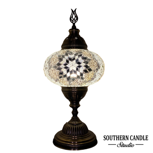 Boho Stars Handcrafted Mosaic Large Table Lamp