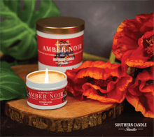Load image into Gallery viewer, Amber Noir Soy Wax Candle 11 oz. - Southern Candle Studio