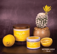 Load image into Gallery viewer, Citrus Soy Wax Candle 4 oz. - Southern Candle Studio
