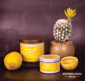 Citrus Soy Wax Candle 4 oz. - Southern Candle Studio