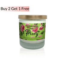 Load image into Gallery viewer, Peony Soy Wax Candle 11 oz. - Southern Candle Studio