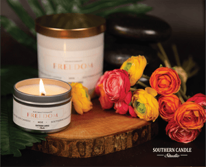 Freedom Soy Wax Candle 11 oz. - Southern Candle Studio