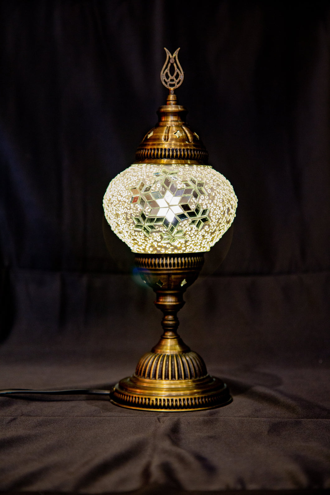Medium Table Lamp-White - Southern Candle Studio