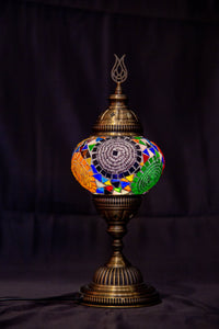 Medium Table Lamp-Multicolor - Southern Candle Studio