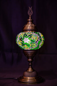 Medium Table Lamp-Green - Southern Candle Studio