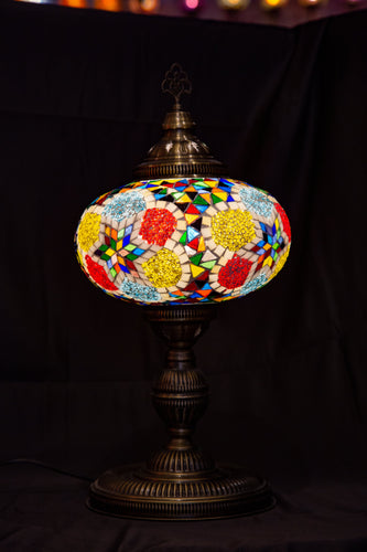Premium Mosaic Lamp-Multicolor - Southern Candle Studio