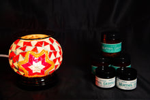 Load image into Gallery viewer, Fragrance Warmer Mosaic Lamps-Red - Southern Candle Studio