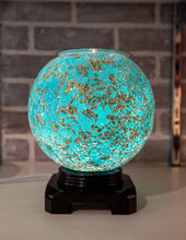 Load image into Gallery viewer, Fragrance Warmer Mosaic Lamps-Big Blue - Southern Candle Studio