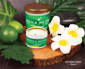 Jamaica Me Crazy Soy Wax Candle 11 oz. - Southern Candle Studio