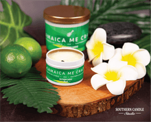 Load image into Gallery viewer, Jamaica Me Crazy Soy Wax Candle 4 oz. - Southern Candle Studio