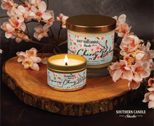Load image into Gallery viewer, Japanese Cherry Blossom Soy Wax Candle 11 oz. - Southern Candle Studio