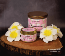 Load image into Gallery viewer, Jasmine Soy Wax Candle 4 oz. - Southern Candle Studio