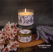 Load image into Gallery viewer, Lavender Blossom Soy Wax Candle 11 oz. - Southern Candle Studio