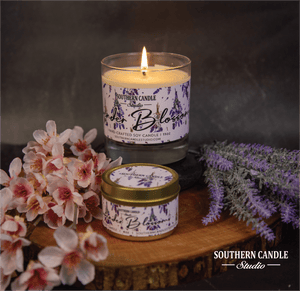 Lavender Blossom Soy Wax Candle 11 oz. - Southern Candle Studio