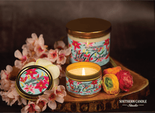 Load image into Gallery viewer, Lily Garden Soy Wax Candle 4 oz. - Southern Candle Studio