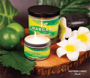 Margarita Soy Wax Candle 11 oz. - Southern Candle Studio