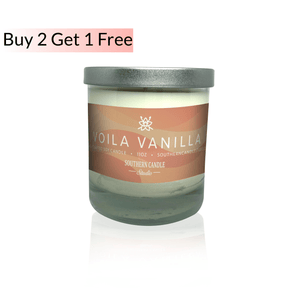 Voila Vanilla Soy Wax Candle 11 oz. - Southern Candle Studio
