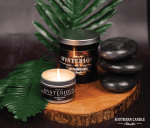 Mysterious Soy Wax Candle 11 oz. - Southern Candle Studio