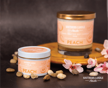 Load image into Gallery viewer, Peach Soy Wax Candle 4 oz. - Southern Candle Studio