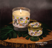 Load image into Gallery viewer, Pineapple Soy Wax Candle 11 oz. - Southern Candle Studio